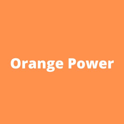 Orange Power Logo V2